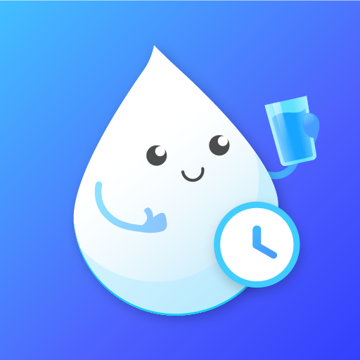 Drink Water Reminder - Water Tracker and Diet Icon