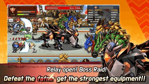 Hero Town online : 2D MMORPG 4.46 screenshots 3