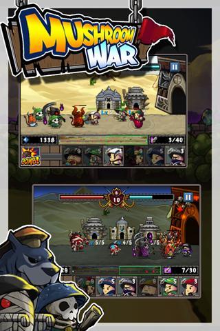 Mushroom War filehippodl screenshot 4