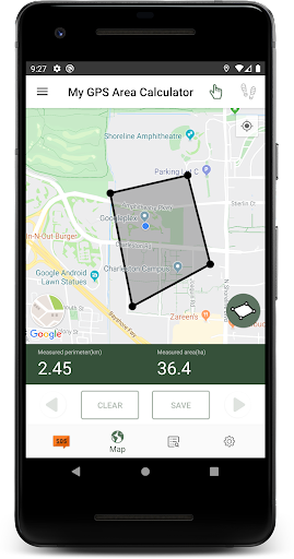 My GPS Area Calculator screenshots 2