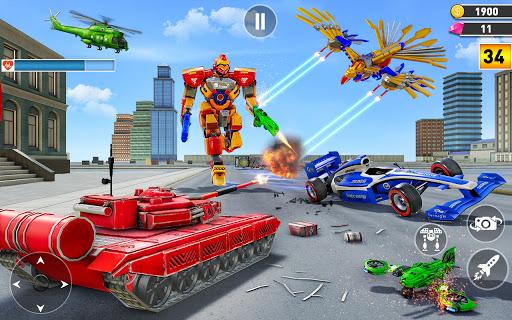 Multi Robot Transform game u2013 Tank Robot Car Games  screenshots 6