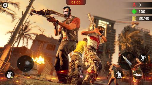 Télécharger Gratuit Zombie Encounter Shooting 2020: New Shooting Games mod apk screenshots 1