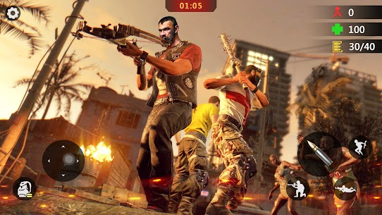 Elite Killer 3D Mod Apk: Zombie Offline Shooting (God Mode) 1
