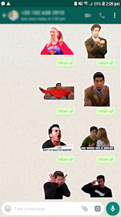 Friends TV Pegatinas / Stickers for WhatsApp Screenshot