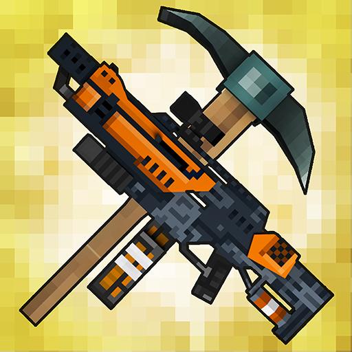 Baixar Mad GunZ - pixel shooter & Battle royale para Android