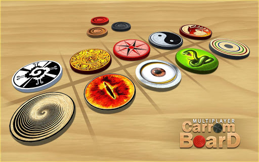 Multiplayer Carrom Board : Real Pool Carrom Game  screenshots 4