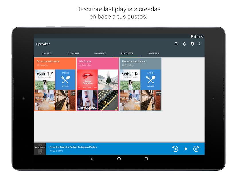 Imágen 9 de Spreaker Podcast Player - Escucha podcasts gratis para android