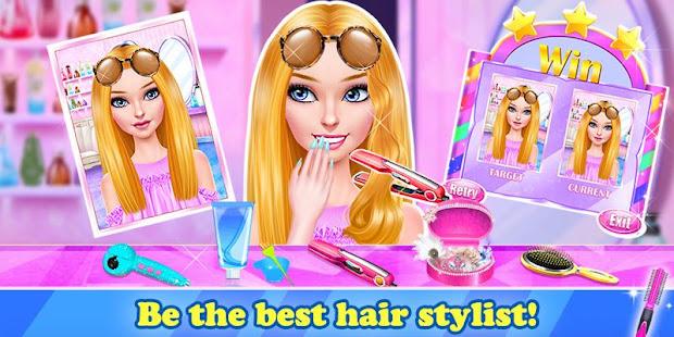 Hair Stylist Fashion Salon 2: Girls Makeup Dressup