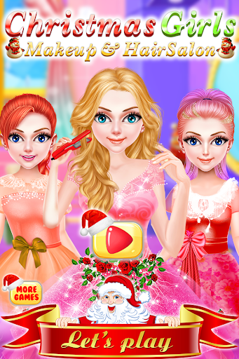 Christmas Girls Makeup & Hair Salon DressUp Games 1.0.18 screenshots 9
