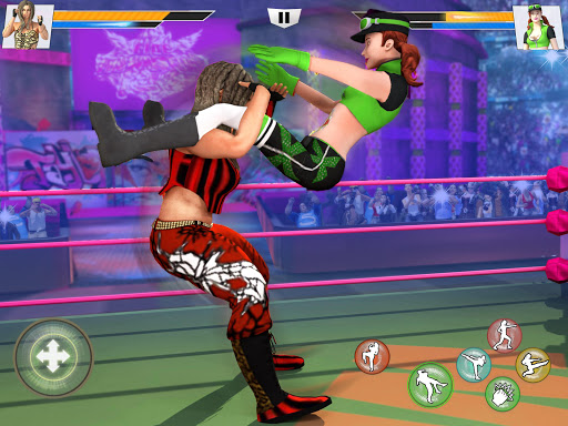 Bad Girls Wrestling Rumble: Women Fighting Games apkdebit screenshots 13