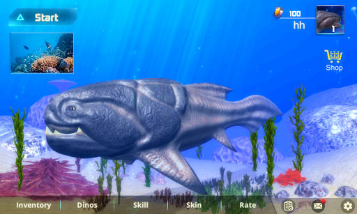Dunkleeosteus Simulator apklade screenshots 1