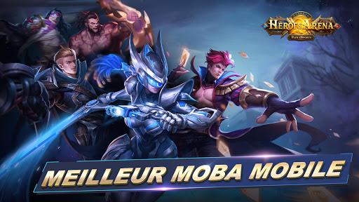 Télécharger Gratuit Heroes Arena APK MOD (Astuce)