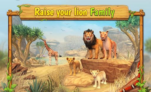 Code Triche Lion Family Sim Online: élèvez votre meute lions APK MOD (Astuce) screenshots 1
