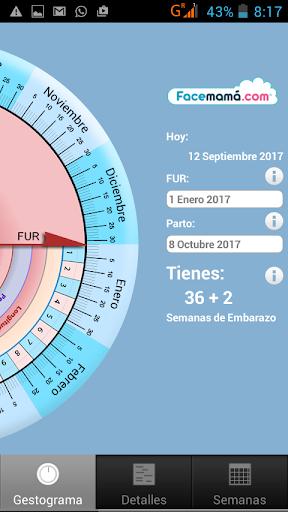 Pregnancy Weeks Calculator by Facemama 1.1.11.1 Screenshots 1