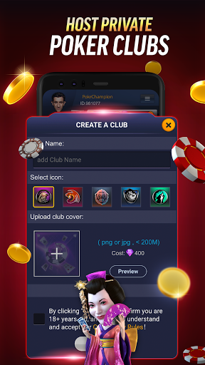 PokerBROS: Play Texas Holdem Online with Friends  Screenshots 5