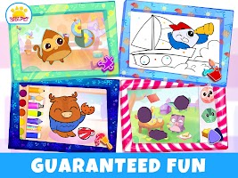 Puzzle and Colors games for kids
