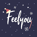 Feelyou:Social mood tracker with one tap self-care
