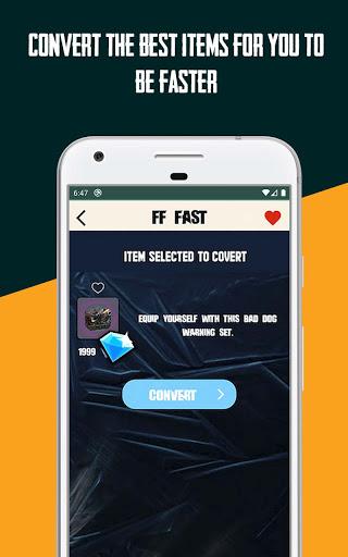 FFFast | Free Diamonds Converter Invest Calculator android2mod screenshots 3