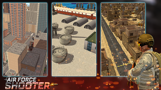 Air Force Shooter 3D - Helicopter Games  screenshots 7