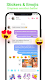 screenshot of Messenger SMS & MMS