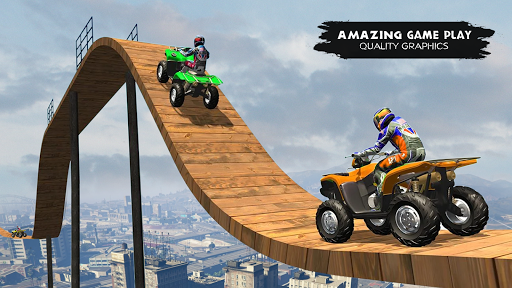 ATV Quad Bike Simulator 2021: Quad stunts Bike 4x4 apktreat screenshots 2