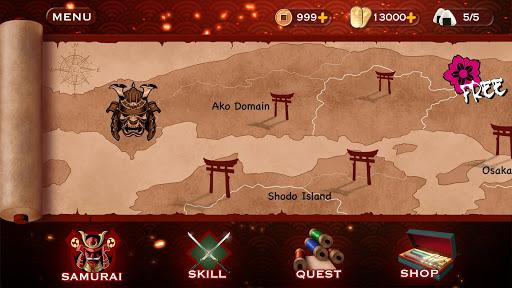 Samurai 3: RPG Action Fighting - Goddess Legend apkpoly screenshots 4