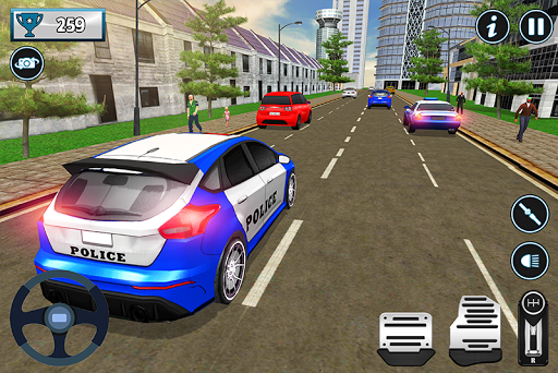 Police City Traffic Warden Duty 2019 android2mod screenshots 3