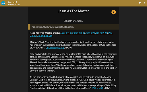 SDA Sabbath School Quarterly 5.0.231 Screenshots 10