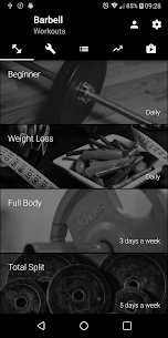 Barbell Home Workout Mod Apk (Premium Unlocked) 4