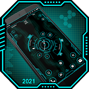 Futuristic Launcher 2 - 2020-  nextgen theme