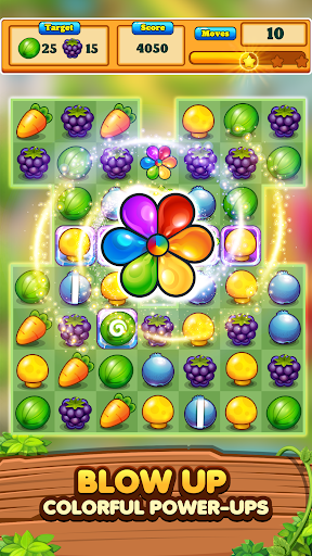 Garden Blast New 2020! Match 3 in a Row Games Free modiapk screenshots 1