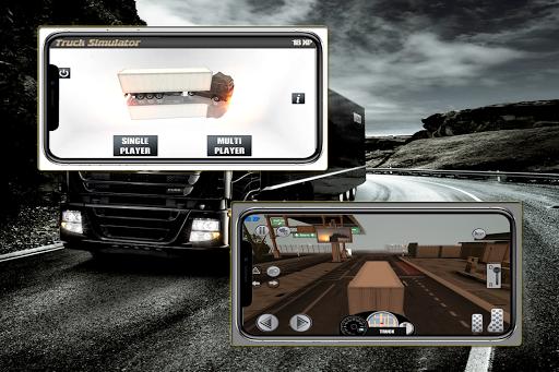 Real Truck Simulator : Multiplayer / 3D 6 screenshots 1
