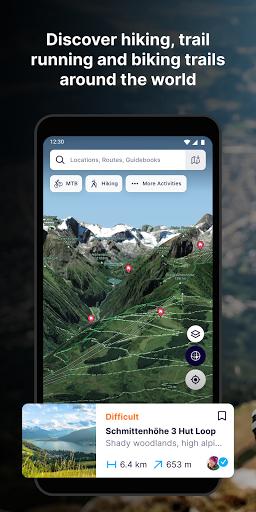 FATMAP: Hike, Bike, Ski Trails - 3D Outdoor Maps apktram screenshots 1