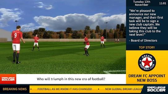 Dream League Soccer DLS v6.14 Mod Apk 6.14 (Unlimited Coins) 8