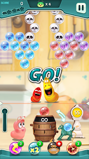 Larva Bubble Pop 1.1.6 screenshots 7