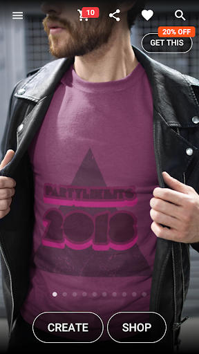 T-shirt design - Yayprint 1.15 Screenshots 1