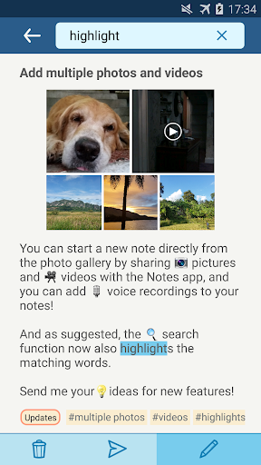 Notes with pictures - easy notepad with images apktram screenshots 4