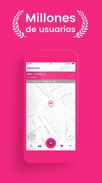 Imágen 2 de EasyPark: busca parquímetro y aparca fácilmente para android