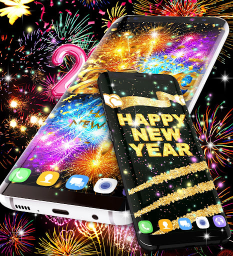 Happy new year 2021 live wallpaper 16.6 Screenshots 11