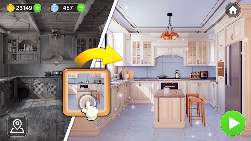 Makeover Word: Home Design & Word Connect Game  screenshots 5