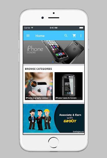 groot :: gadget shop screenshot 1