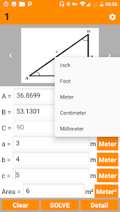 Right Angled Triangle Calculator and Solver – PRO v2.1 [Paid] 4
