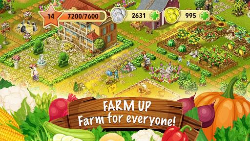 Jane's Farm: Farming Game - Build your Village