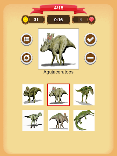 Dinosaurs Quiz 1.9.0 screenshots 13