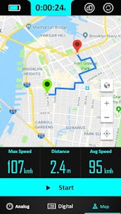 GPS Speedometer : Odometer and Speed Tracker App 3