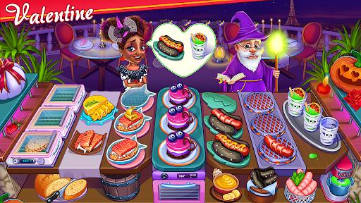 Halloween Cooking : Chef Restaurant Cooking Games  screenshots 1