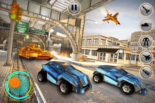 Tank Robot Car Games - Multi Robot Transformation screenshots 8