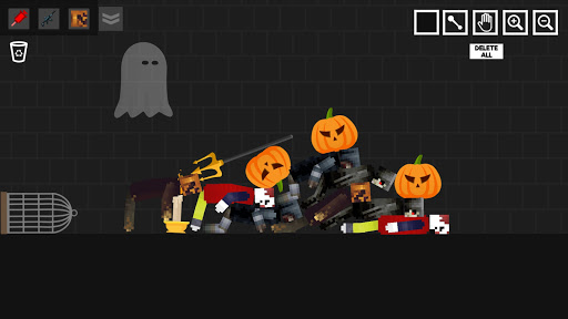 Halloween Ragdoll Playground: Human Witch android2mod screenshots 7
