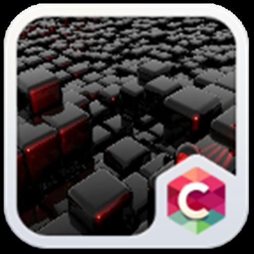 Cool tech theme: Nero Black Magic cube design