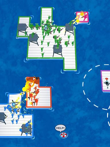 War of Rafts: Crazy Sea Battle  screenshots 13